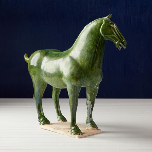 Green Han Horse