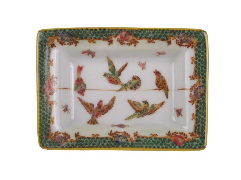 Festive Sparrow Tray