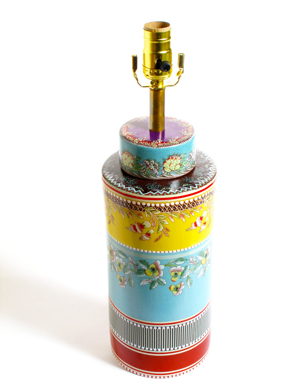 Floral Rainbow Lamp