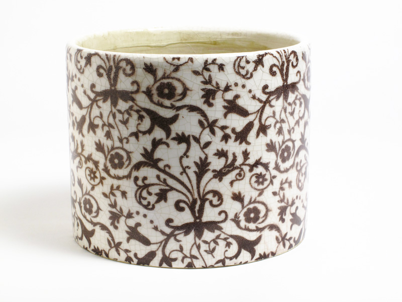Floral Medly Planter Pot