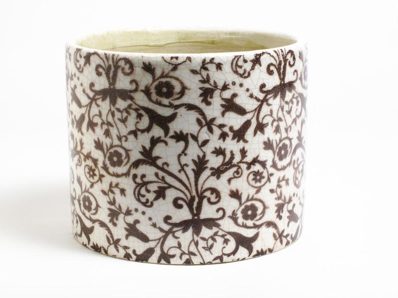 Floral Medly Planter Pot