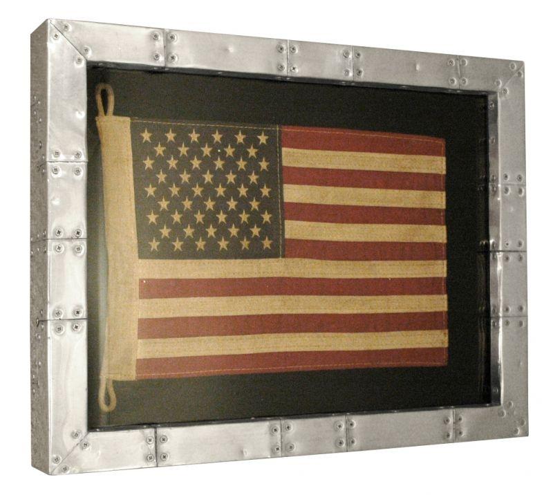 Shadow Box Wall Art american flag shadow box wall art - home brands usa