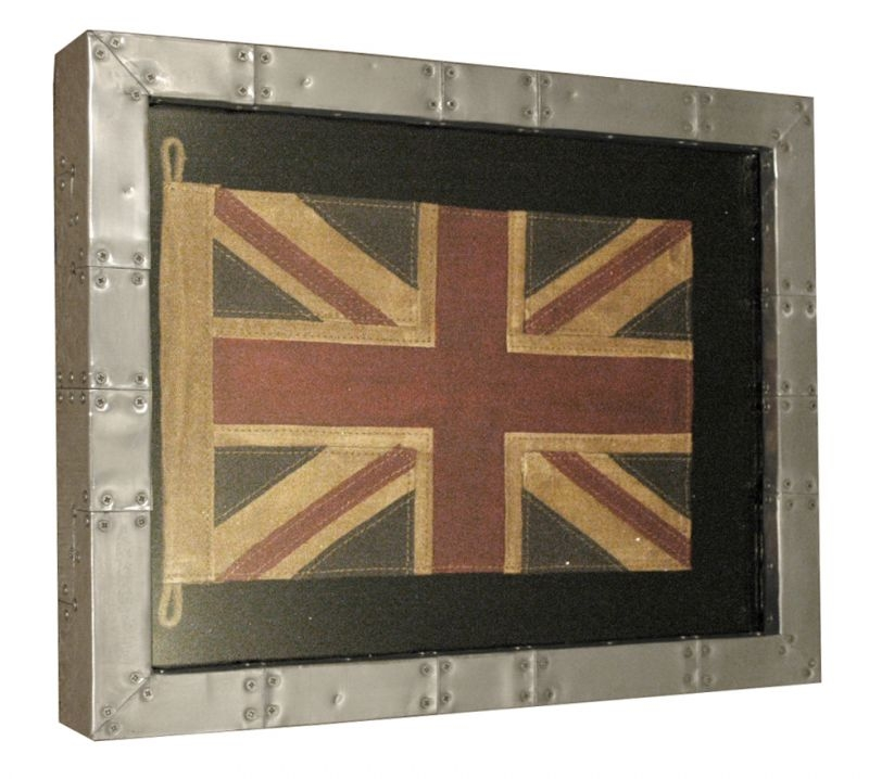 Great Britain Flag Shadow Box
