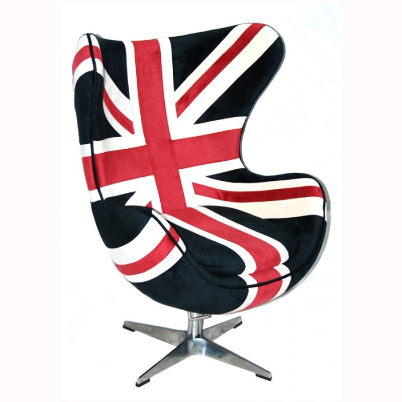 Union Jack Egg Chair Chairs Home Brands USA