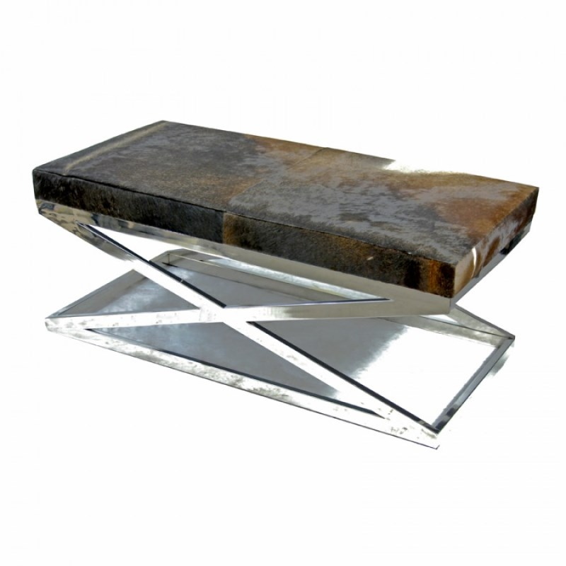 Zhari Cowhide Big Bench