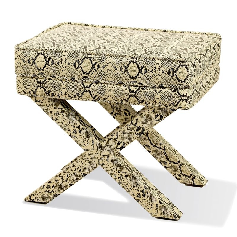 Royal Python Rectangle Bench