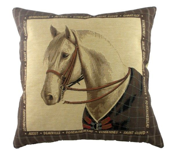 Equestrian Brown 18x18