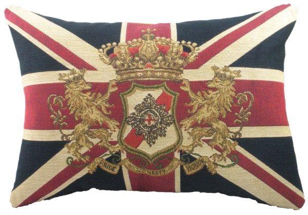 Union Jack Lion 18x13