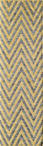 Momeni CARAVAN CAR8 YELLOW RUG