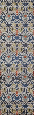 Soho Ikat Transitional Ikat Runner Area Rug