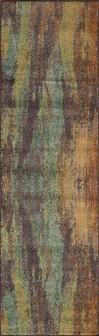 Soho Ikat Transitional Abstract Runner Area Rug