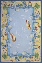 Momeni COASTAL CC03 Light Blue RUG
