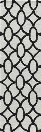 Soho Passion Contemporary Geometric Rectangle Area Rug