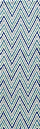 Soho Passion Contemporary Chevron Runner Area Rug
