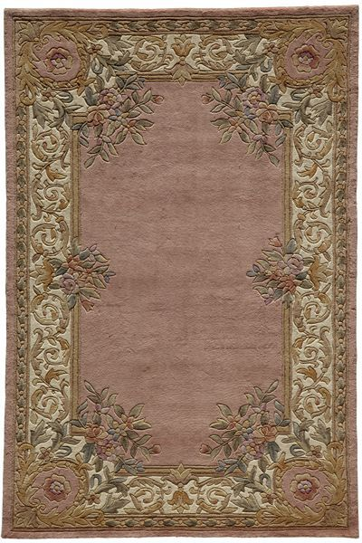 Momeni Harmony Ha07 Rose Rug Aubusson European Home