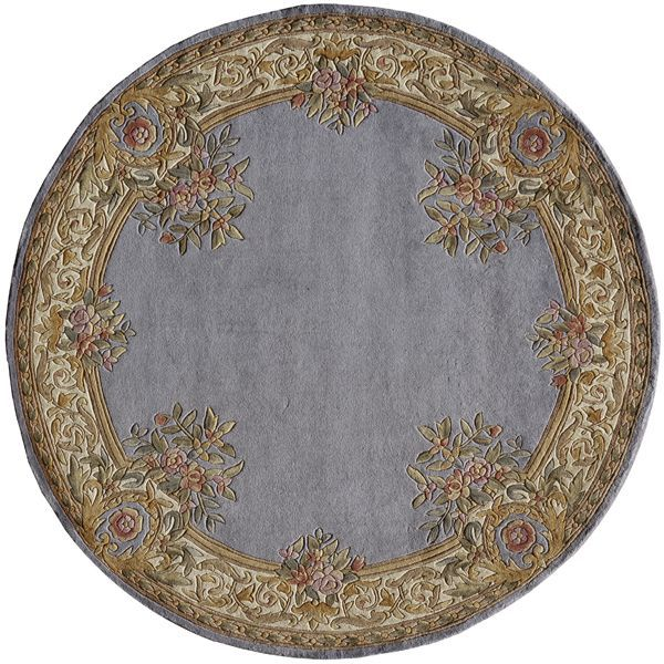 Momeni Harmony Ha07 Blue Rug Aubusson European Home