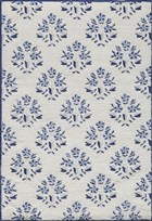 Soho Livingston Transitional Damask Rectangle Area Rug