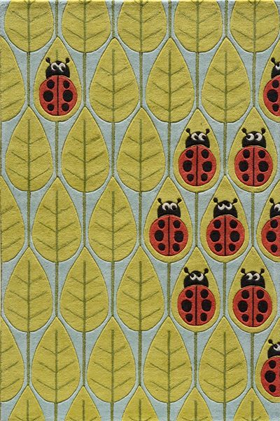Momeni-LIL-MO-WHIMSY-LMJ13-LADY-BUG-RED-RUG