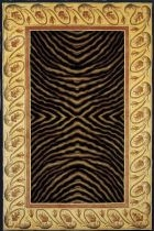 momeni new wave nw09 black rug - Momeni Rugs