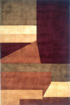 Momeni NEW WAVE NW19 WINE RUG