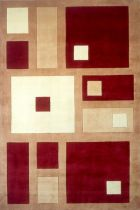 Momeni NEW WAVE NW50 RED RUG