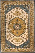 Momeni PERSIAN GARDEN PG03 TEAL BLUE RUG