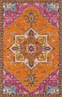 Momeni Ibiza Orange Traditional Rugs IBI-2
