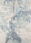 Momeni Illusions Blue Casual Rugs IL-04