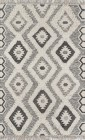 Novogratz by Momeni Indio Black Contemporary Rugs IND-5