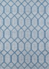 Erin Gates Langdon Blue Contemporary Rugs LGD-4
