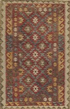 Momeni TANGIER TAN7 RED RUG