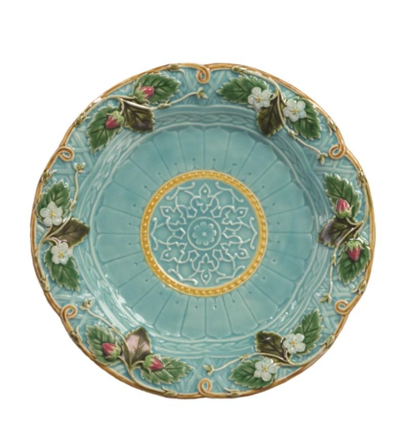 Abigails Garden Party Strawberry Dessert Plate