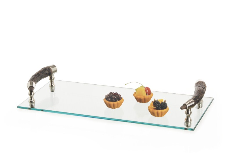 Bark Handle Serving Tray by Go Home
