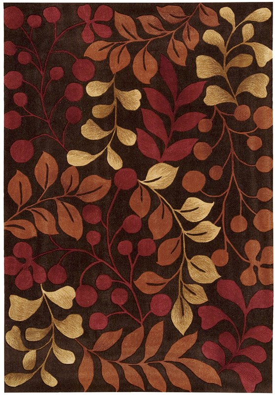 nourison-contour-456-chocolate-rug