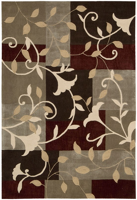 nourison-contour-664-mocha-rug