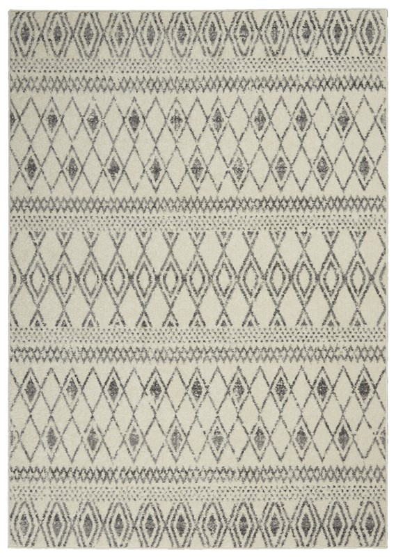 Nourison Passion PSN41  Ivory/Grey Transitional Area Rug