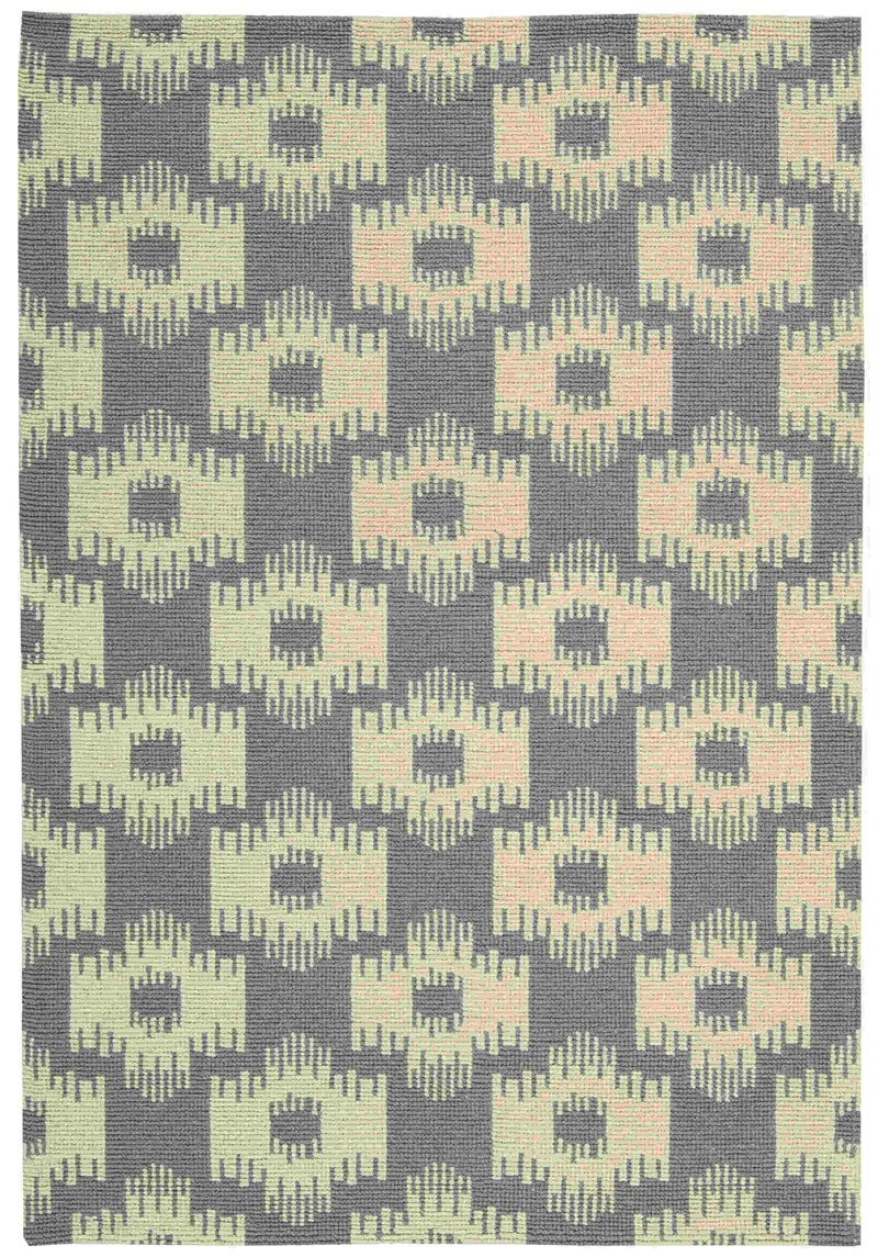 BARCLAY BUTERA PRISM SLATE AREA RUG BY NOURISON