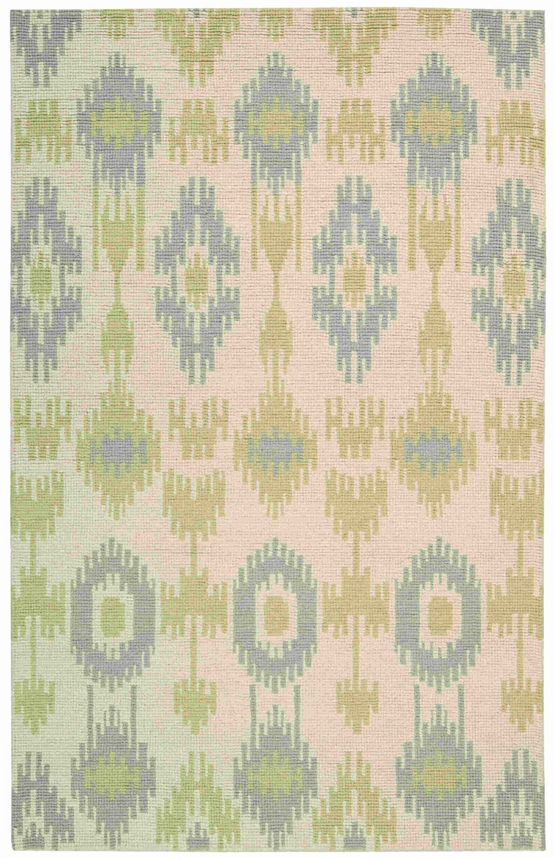 BARCLAY BUTERA PRISM HONEYDEW AREA RUG BY NOURISON
