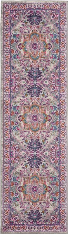 Nourison Passion Traditional Light Grey-Pink Rug PSN20