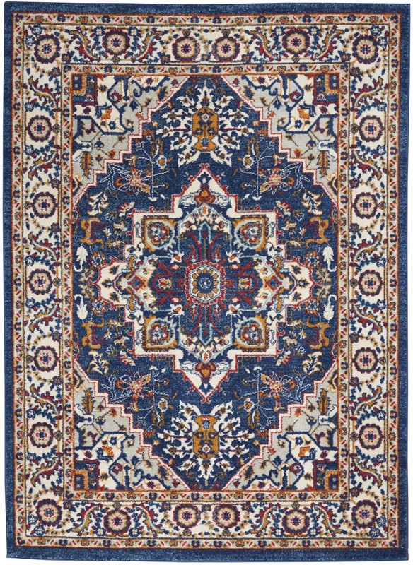Nourison Passion Traditional Blue Rug PSN33