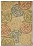 NOURISON ARISTO LIGHT MULTICOLOR AREA RUG