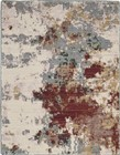 Nourison Artworks Contemporary Slate Multi Rug ATW01
