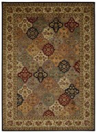 KATHY IRELAND ANCIENT TIMES EMPRESS GARDEN MULTICOLOR AREA RUG BY NOURISON