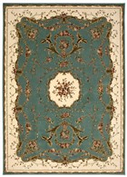 NOURISON BORDEAUX SLATE BLUE AREA RUG