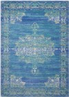 Nourison Cambria Teal Area Rug