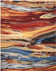 Nourison Chroma Lava Flow Area Rug