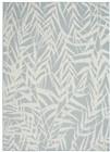Nourison Calabas Contemporary Light Blue-Cream Rug CLB06