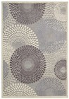 Nourison Graphic Illusions Grey Area Rug