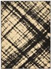 Nourison Grafix Cream Black Area Rug