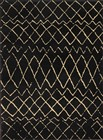 Nourison Grafix Black Area Rug